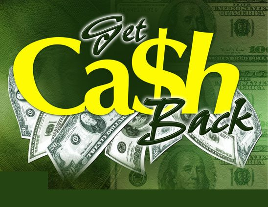 getting cash back from real estate agents