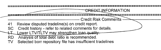 Loan Approval Denied Disputed Credit Accounts