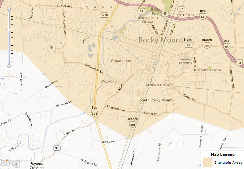 rocky_mount_nc_south_map