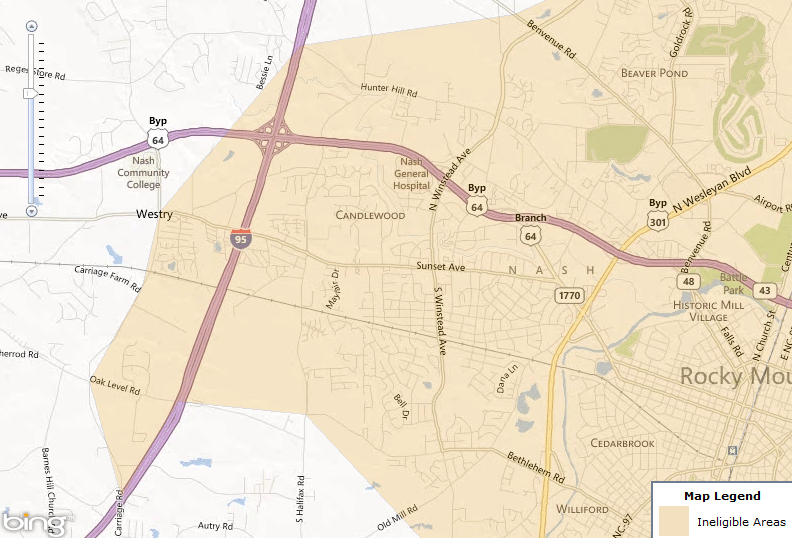 rocky_mount_nc_west_map