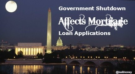 Government Shutdown Affects Loan Applications