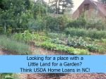 USDA Home Loan Requirements Updates