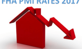 FHA PMI Rates 2017