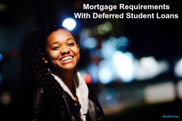 mortgage requirements with deferred student loans