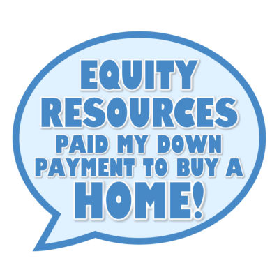 Equity Zero down payment gift